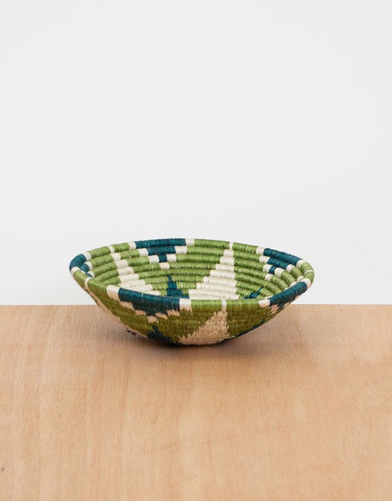Kazi Small Pastel Green Basket