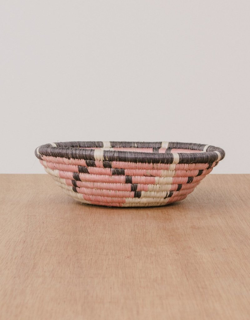 Kazi Small Blush Pink Hope Basket