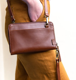 Joyn Kosha Leather Crossbody Wallet