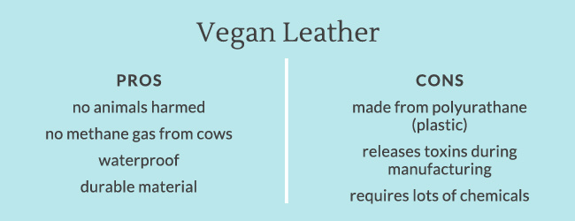 Vegan Leather Pros and Cons