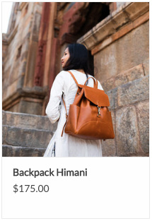 Himani Leather Backpack