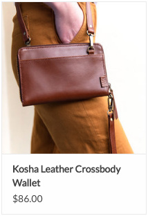 Kosha Crossbody Leather Bag