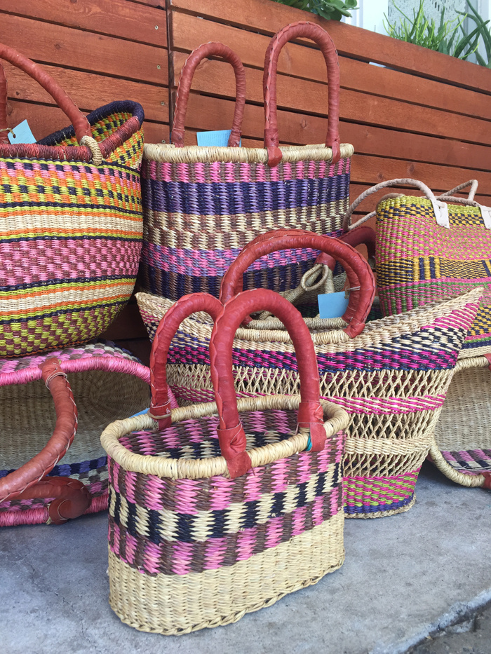 Market Baskets from Ghana