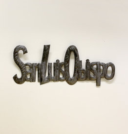 """San Luis Obispo"" Metal Wall Art"