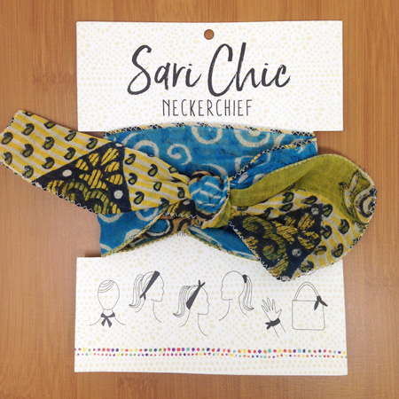 Kantha Neckerchief