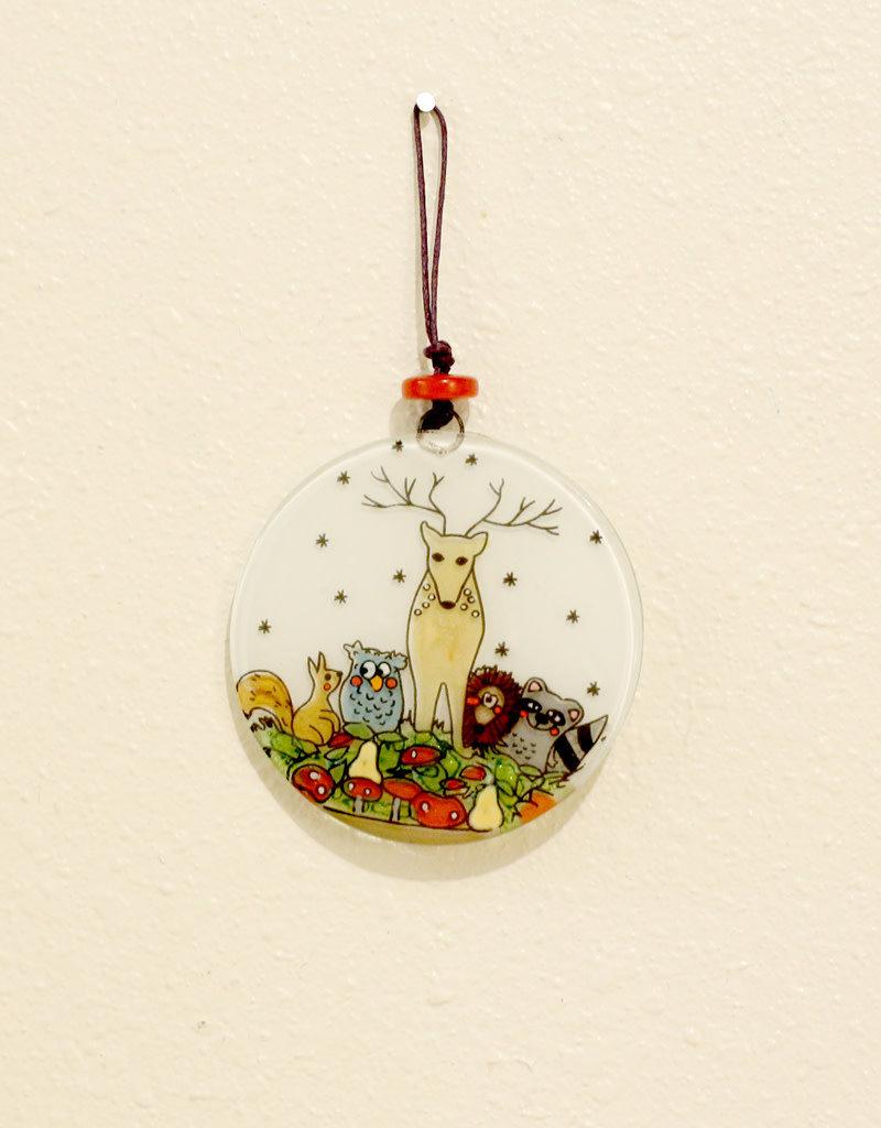 Woodland Reindeer Ornament