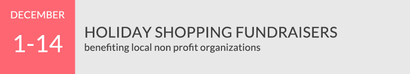 Holiday Shopping Fundraisers