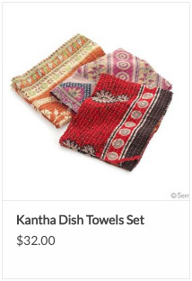 Fair Trade Sari Dish Towel
