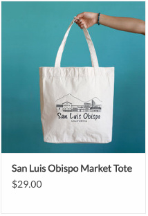 SLO Market Tote