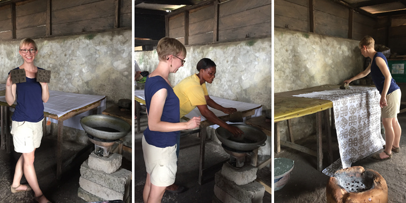 Ghana Batik Workshop 1