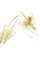 Belart Triangle Moss Earrings
