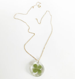 Belart Mini Moon Clover Necklace