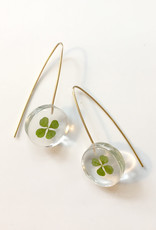 Belart Mini Moon Clover Earrings