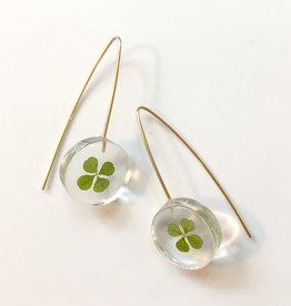 Belart Mini Moon Clover Earrings