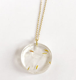 Belart Moon Dandelion Necklace