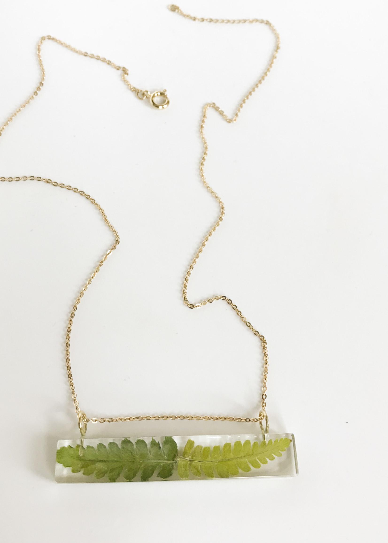 Belart Palito Fern Necklace