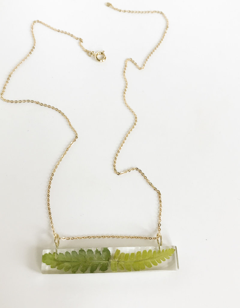 Belart Palito Fern Necklace