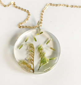 Belart Moon Flowers in the Wind Necklace
