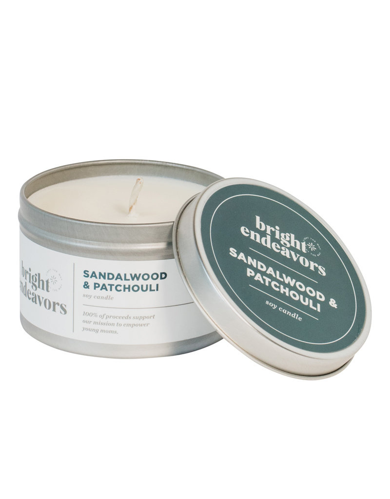Bright Endeavors Soy Candle in 8oz Tin