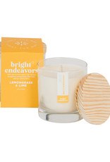 Bright Endeavors Soy Candle in Glass Jar