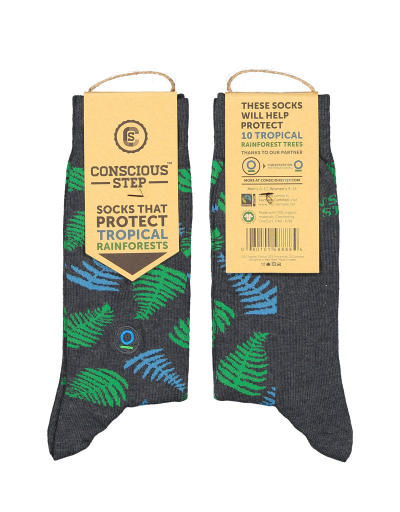 Socks That Protect Tropical Rainforests (men's)