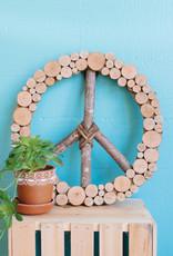 Wreath of Layered Peace