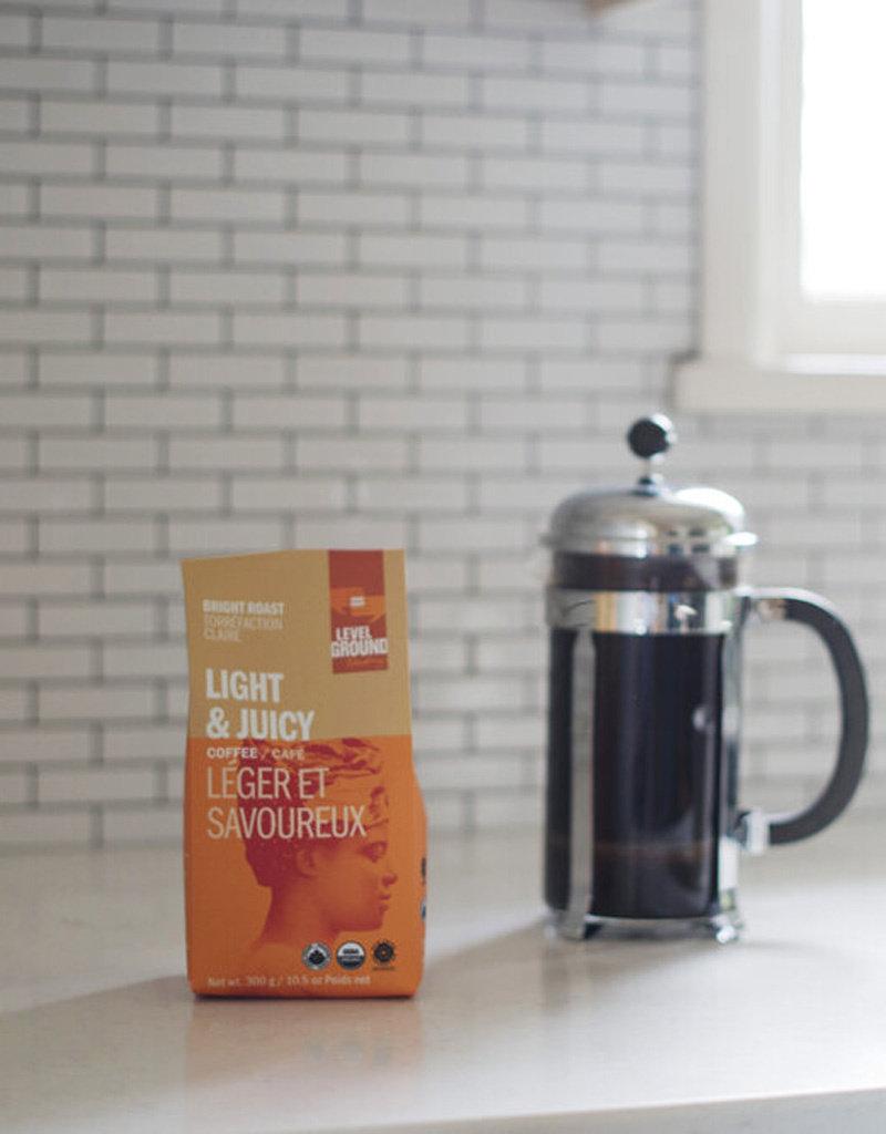 Level Ground Trading Light Roast Blend Coffee