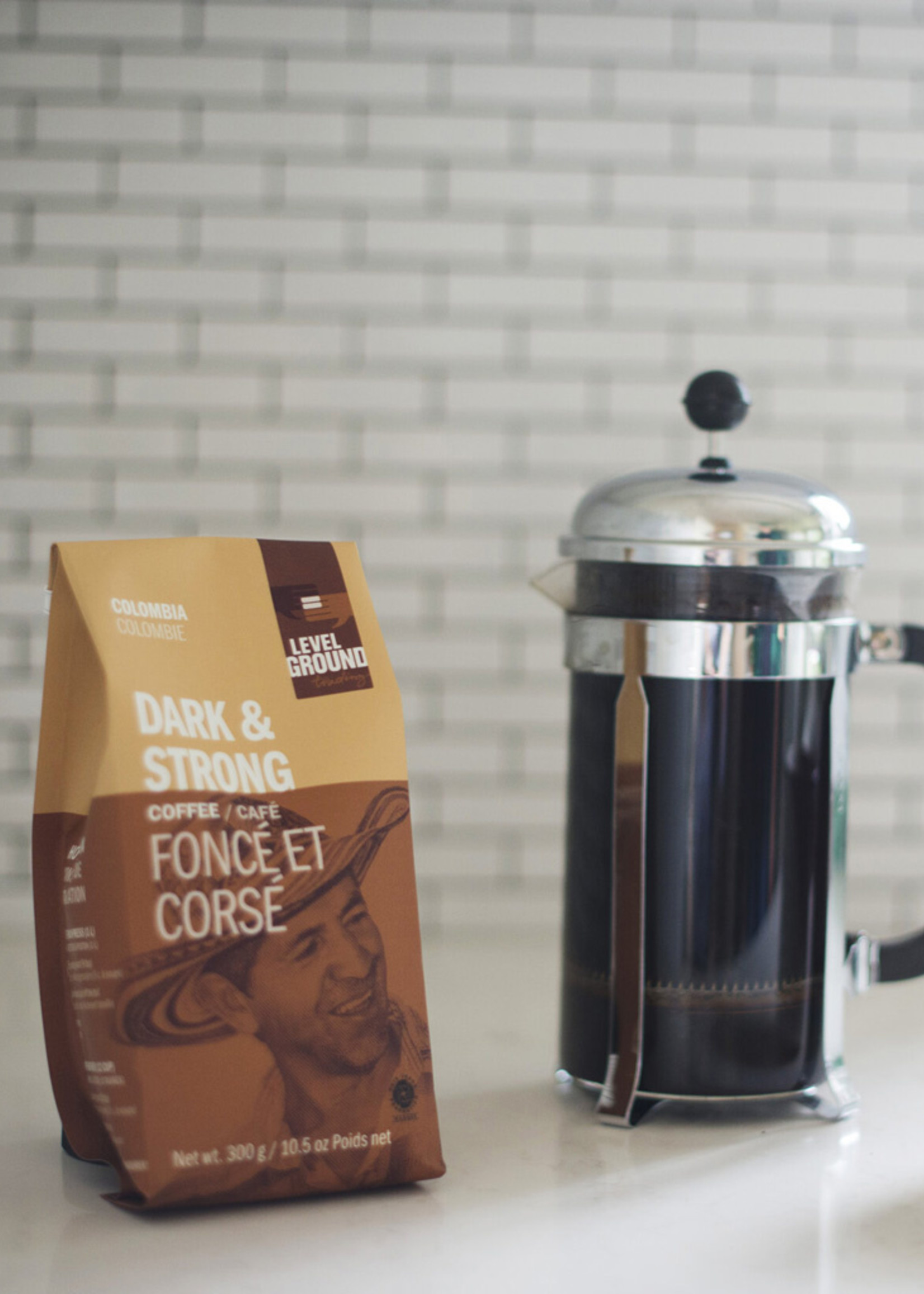 Level Ground Trading Colombian Coffee