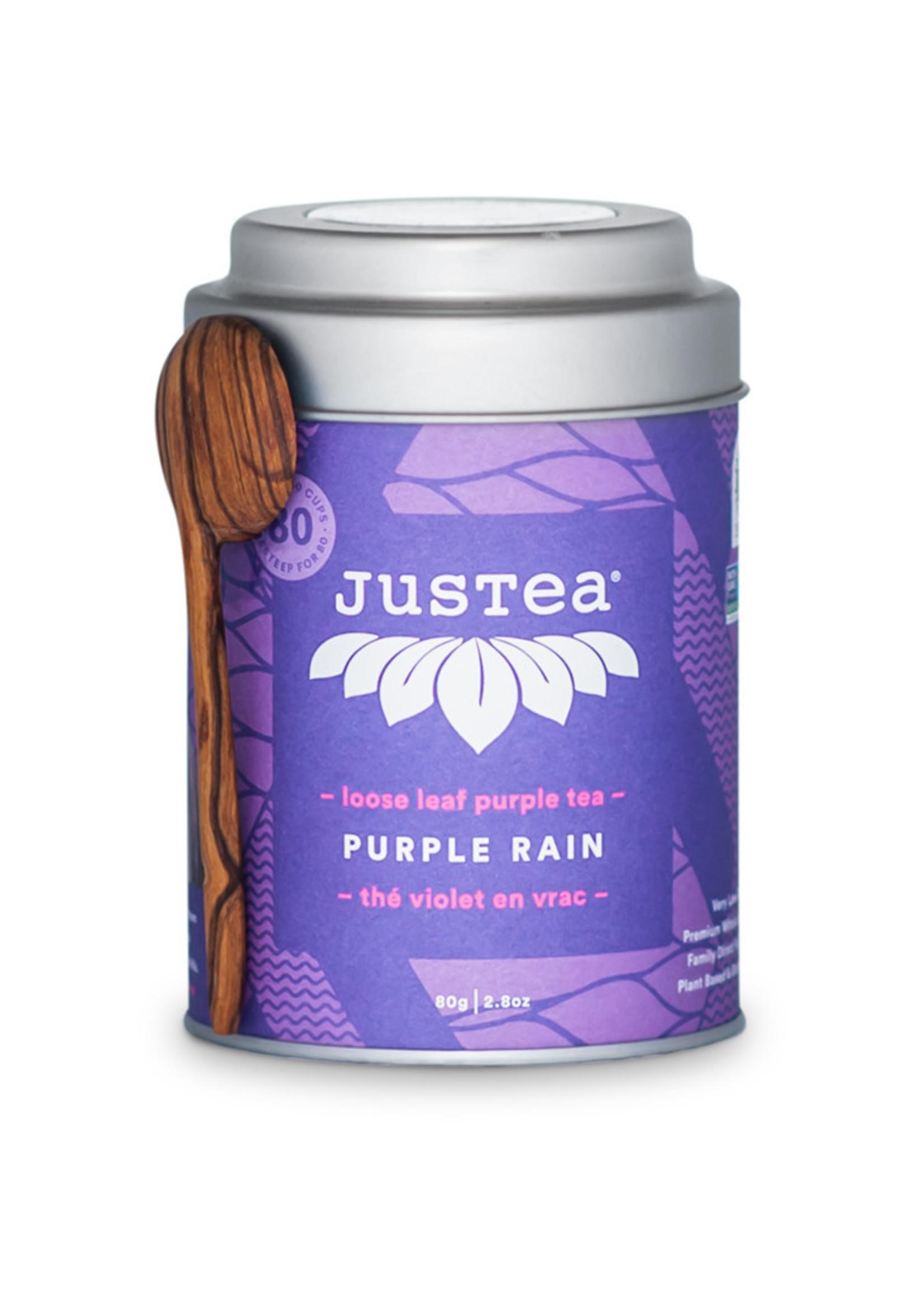 JusTea Loose Leaf Tea - Purple Rain
