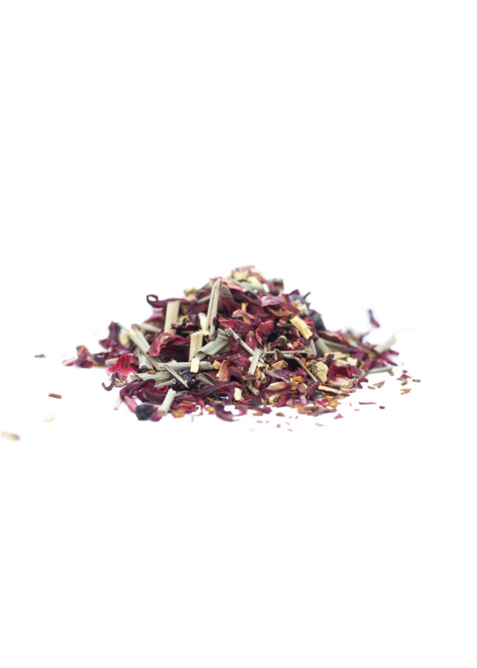 JusTea Loose Leaf Tea - Little Berry Hibiscus