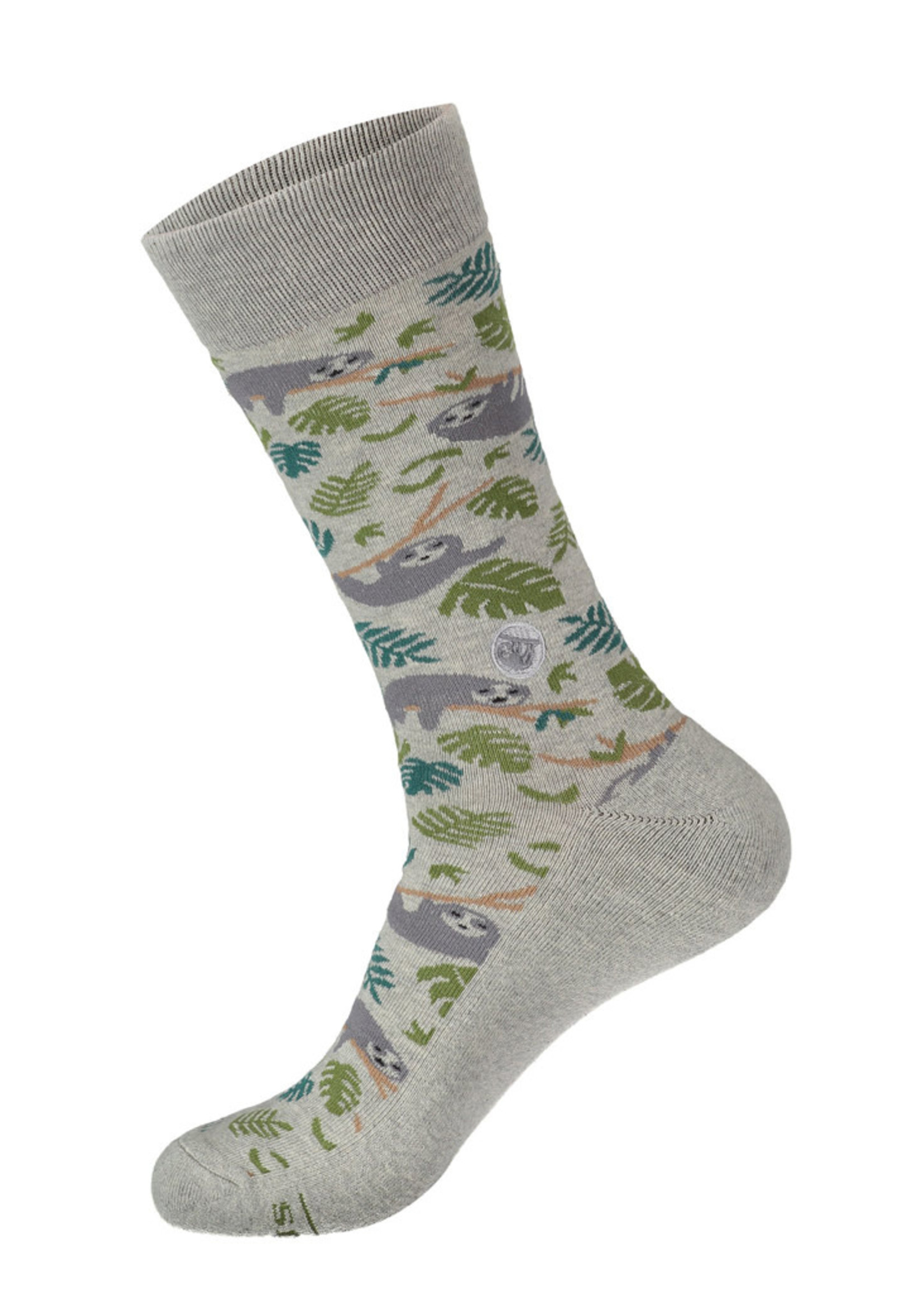 Conscious Step Men's Socks That Protect Sloths