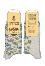 Socks That Protect Sloths (women's size)