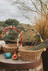 Matr Boomie Harvest Basket with Sari Handle