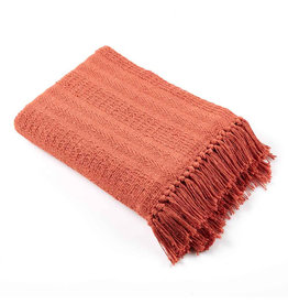 Asha Handicrafts Brick Rethread Throw