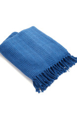 Asha Handicrafts Azure Rethread Throw