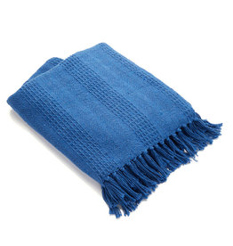 Asha Handicrafts Azure Rethread Throw