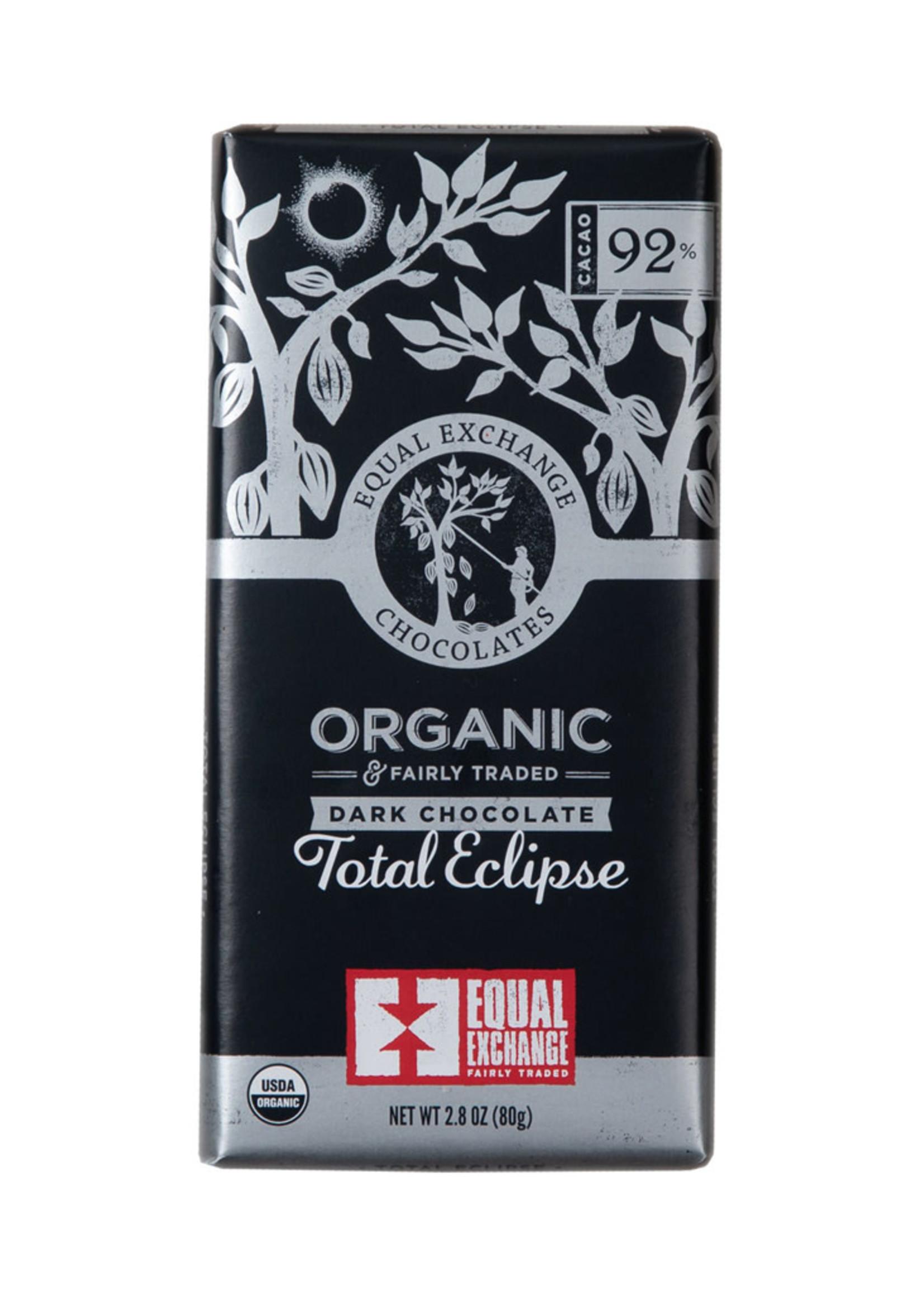 Equal Exchange Total Eclipse Dark Chocolate Bar