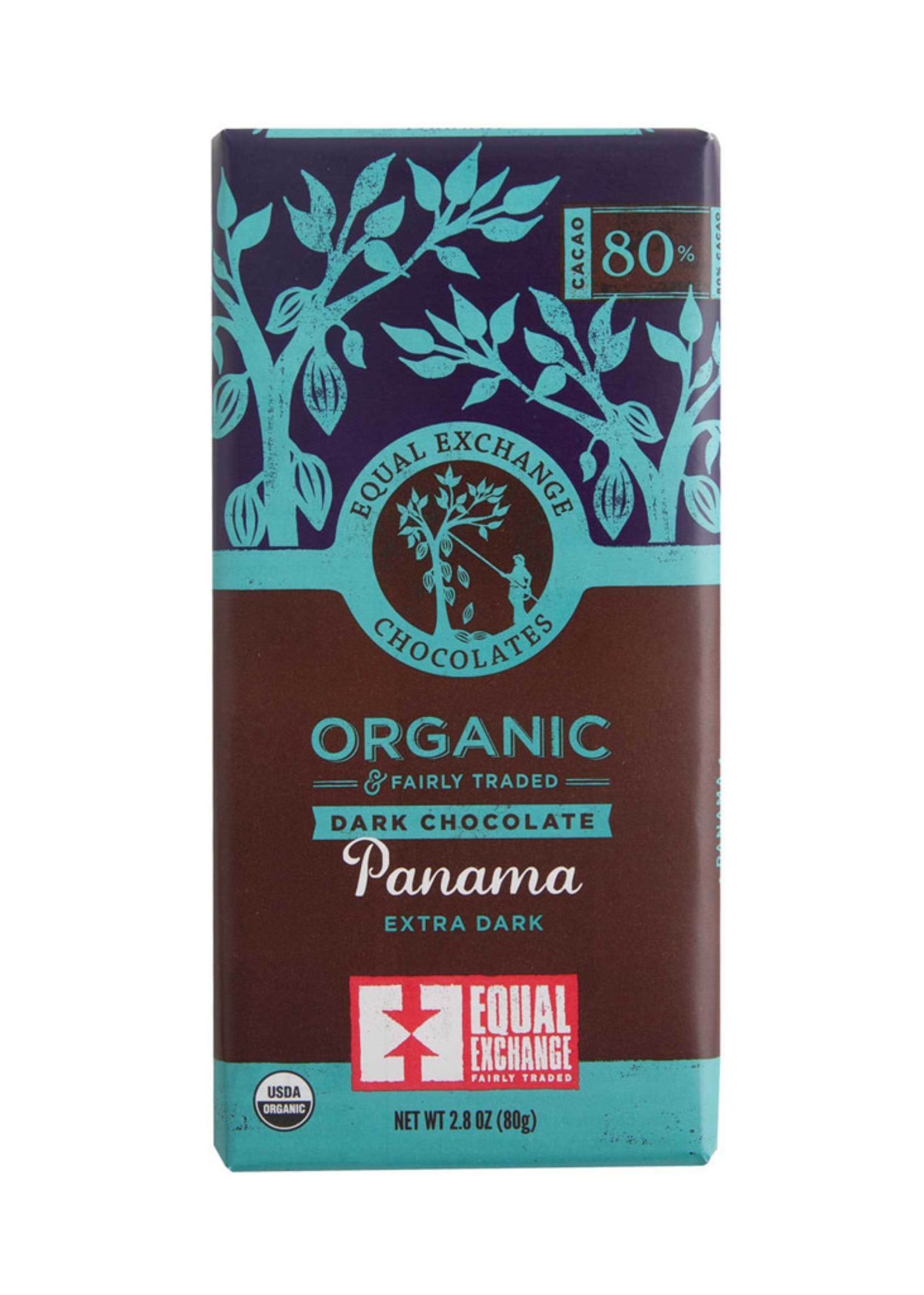 Equal Exchange Extra Dark Chocolate Bar