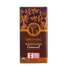 Equal Exchange Dark Chocolate Bar with  Caramel & Sea Salt