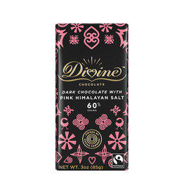 Divine Chocolate Dark Chocolate Bar with Himalayan Salt