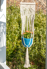 Vine & Leaves Macrame Plant Hanger