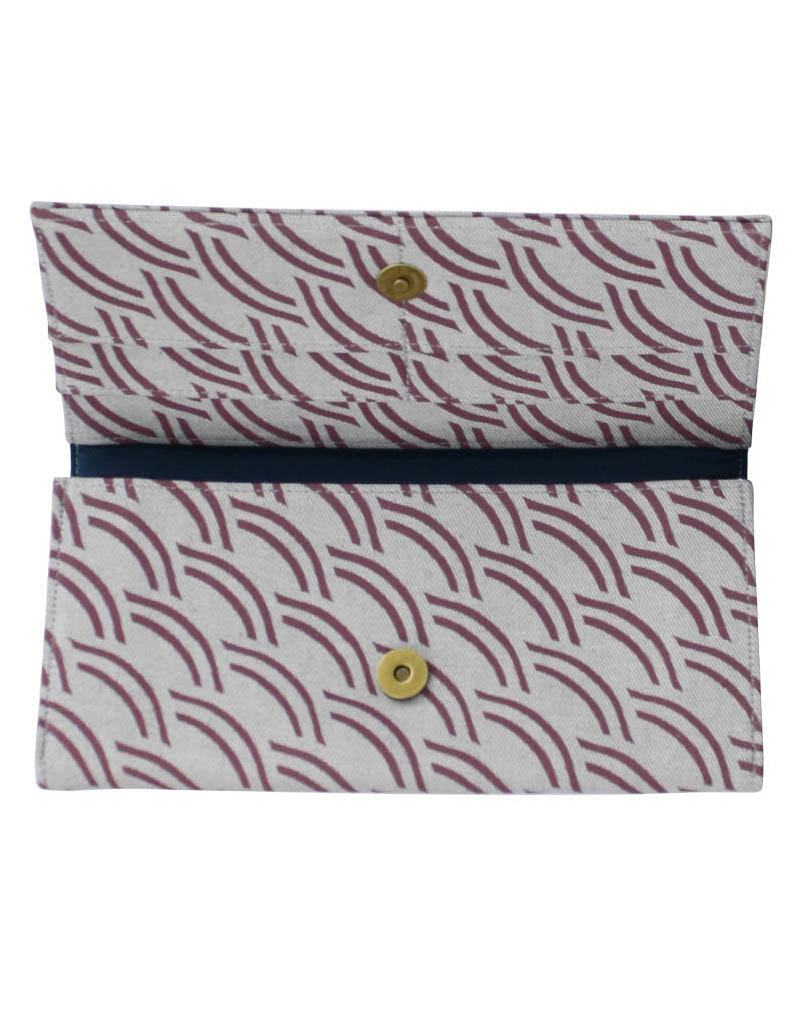 Malia Designs Long Upcycled Cotton Wallet