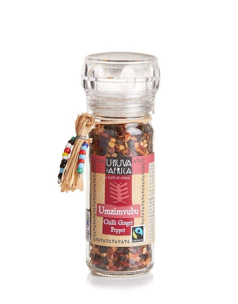 Umzimbubu Chili Ginger Pepper Spice