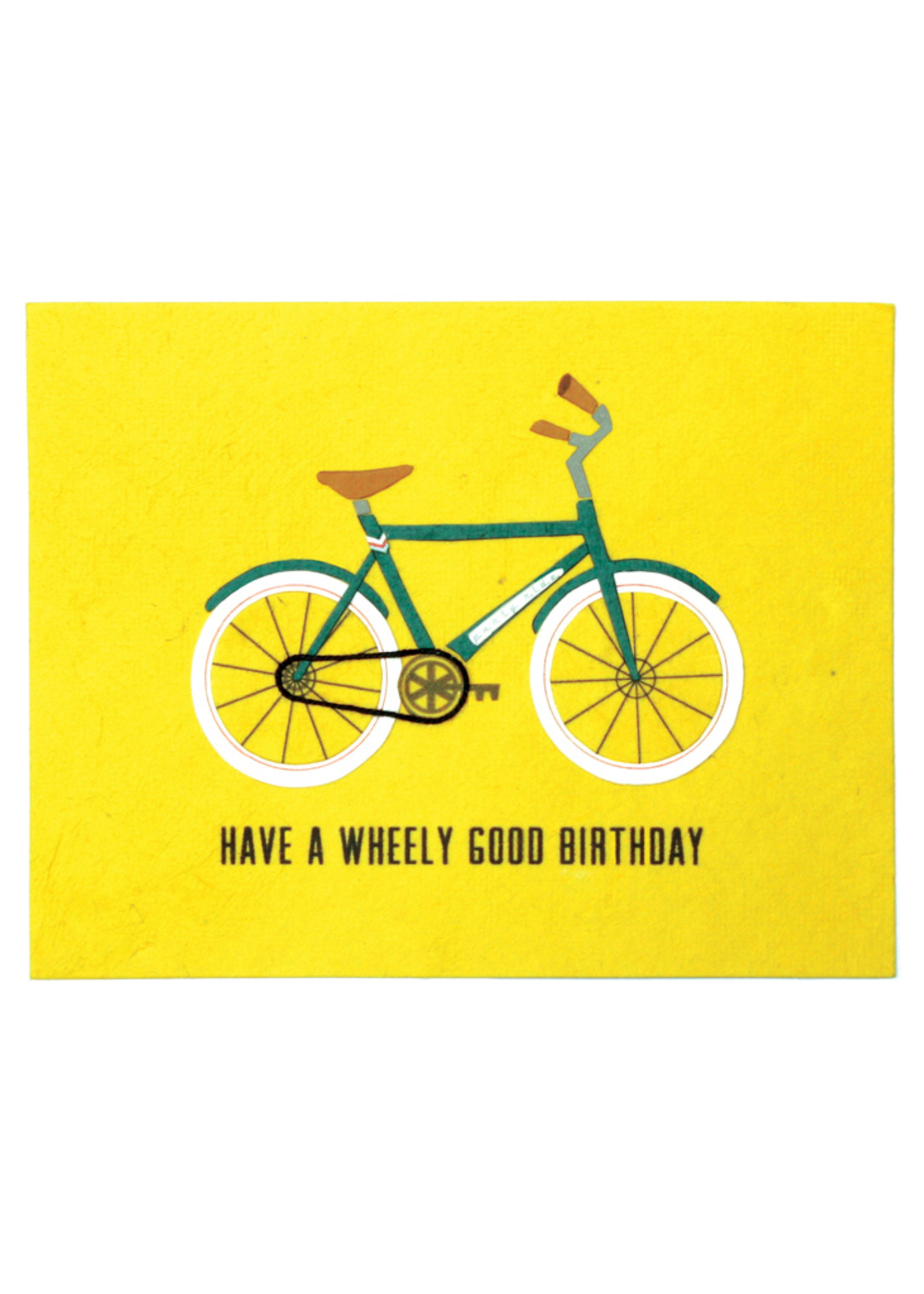 Good Paper Wheely Good Birthday Card