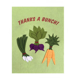 Good Paper Veggie Bunch Card