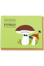 Good Paper Happy Birthday Fungi Card