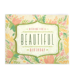 Good Paper Watercolor Birthday Card