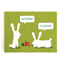Good Paper Gluten-Free Birthday Card