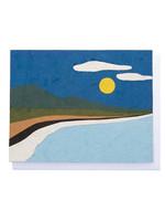 Good Paper Beach Landscape Card