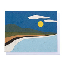 Good Paper Beach Landscape Card